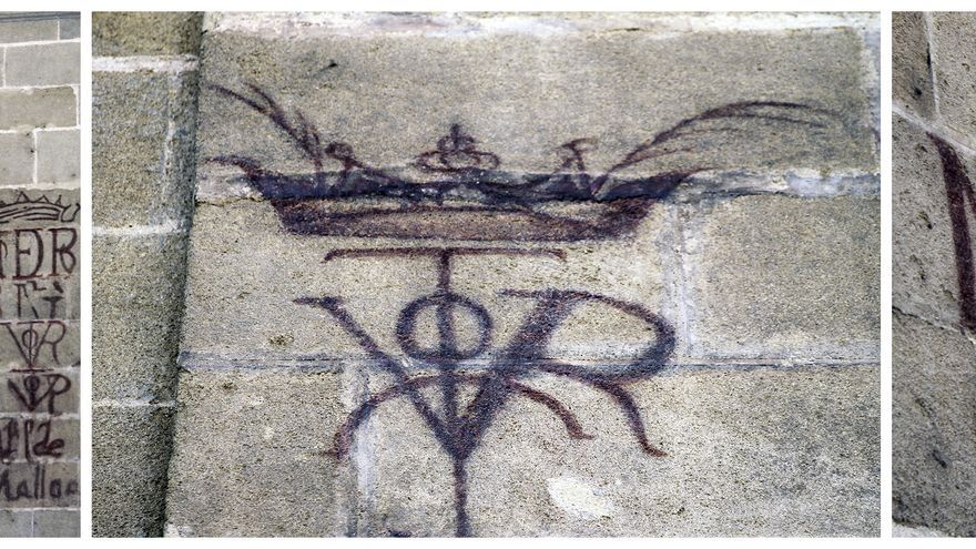 Grafitis históricos estudiantiles. | JUAN MIGUEL BAQUERO