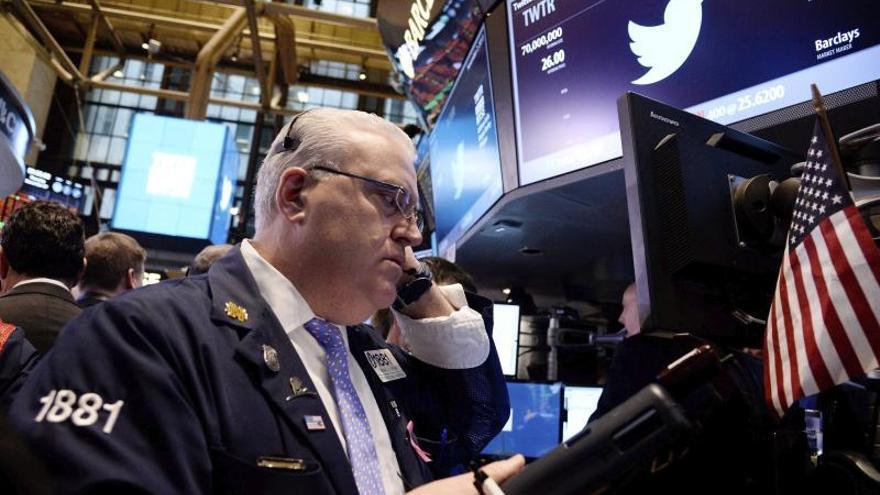 Wall Street con descensos y el Dow Jones pierde el 0,87 por ciento