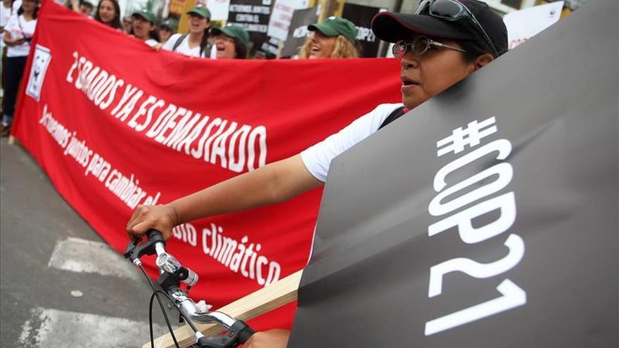 Más de 785.000 personas se manifestaron por el clima en 175 países
