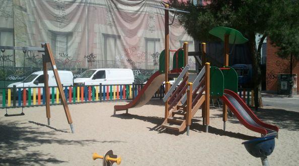 Parcela entre las calles San Mateo y Beneficencia puesta a la venta por el Ayuntamiento | Foto: Somos Malasaña