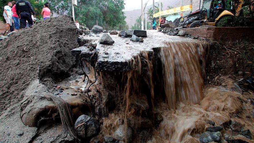La OIM pide 4,3 millones para apoyar a las víctimas de las inundaciones en Perú