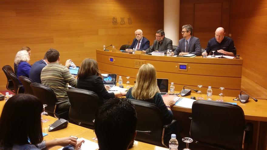 El expresidente de las Corts Valencianes, Juan Cotino, comparece en la comisión sobre las residencias