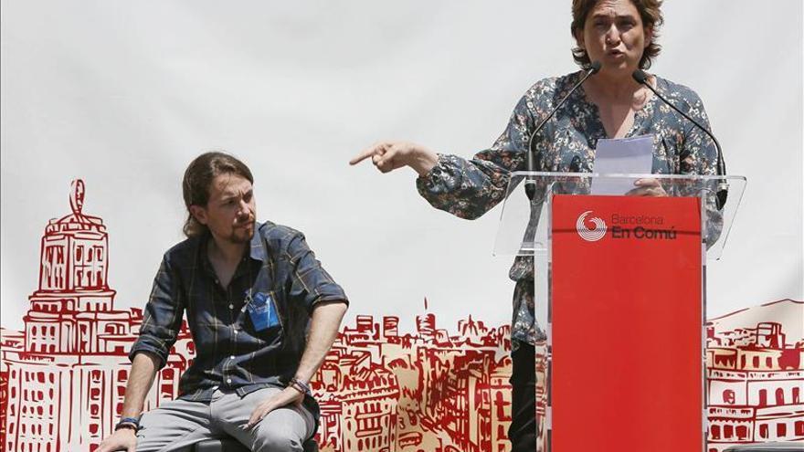 """Colau fija como """"línea roja"""" las privatizaciones para pactar con ERC y PSC"""