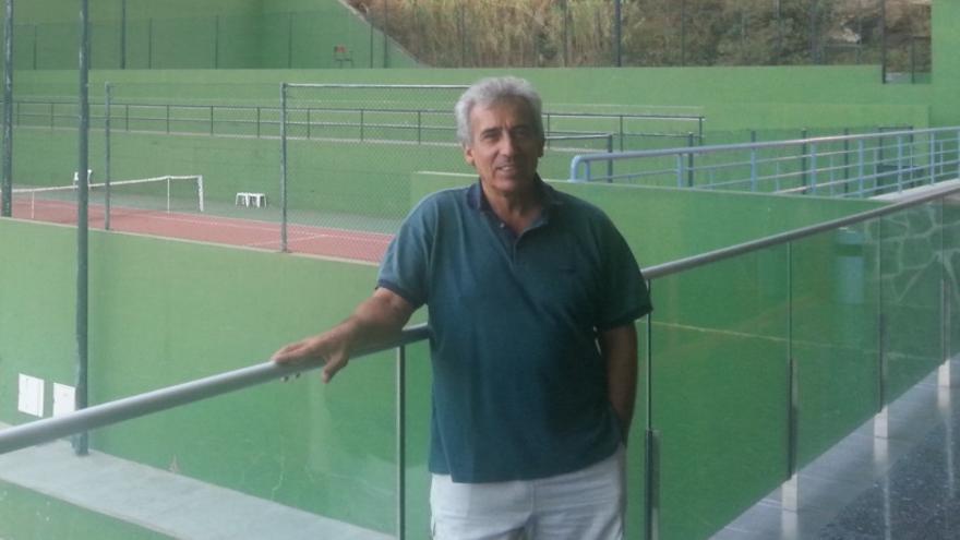 Juan Carlos Govantes, nuevo presidente del Club de Tenis de La Palma