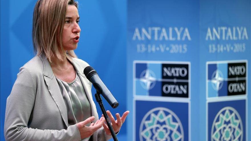 "Mogherini: a la UE no le interesa una Rusia ""aislada, frágil o desestabilizada"""