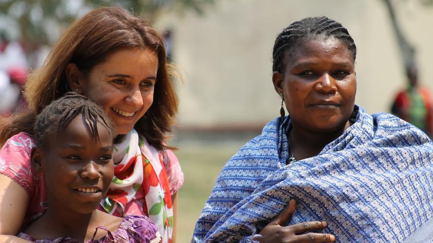 Patricia Cazorla en Congo