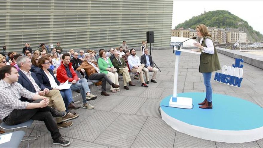Quiroga (PP): Hay que pasar factura al PNV por ponerse de perfil ante Bildu