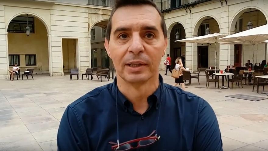 Jorge Olcina, responsable del laboratorio de climatología de la Universidad de Alicante
