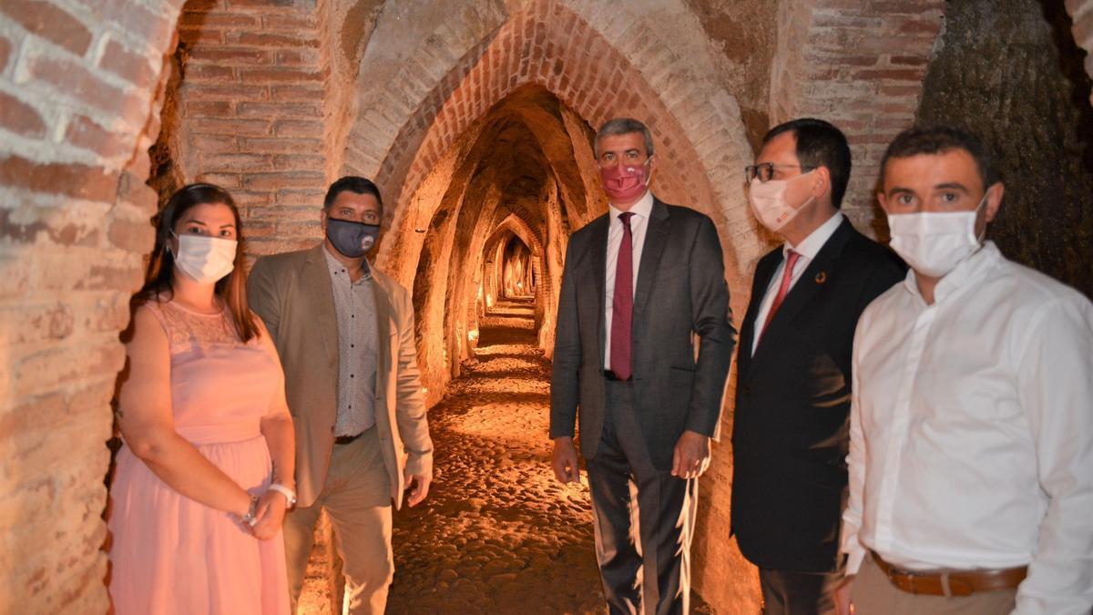 El alcalde y el presidente de la Diputación en la inauguración del Museo