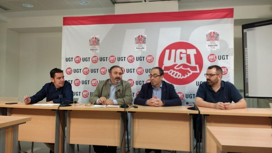 CCOO y UGT presentaciones del 1 de mayo