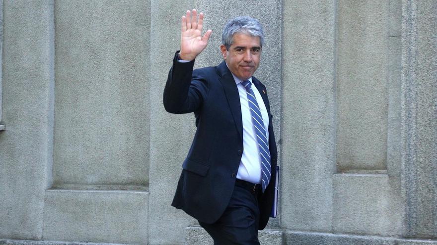 El PP y C's respaldarán el suplicatorio de Homs y el PSOE aún no tiene tomada la decisión