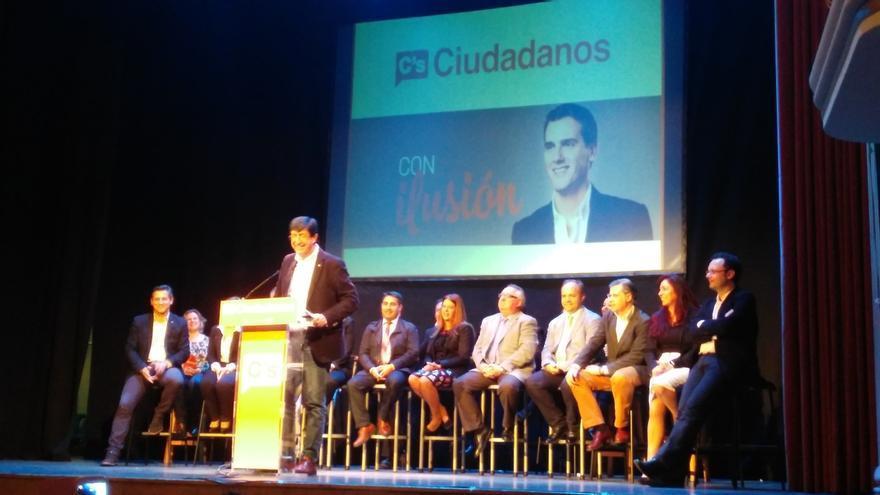 """Marín (C's) quita importancia a los """"insultos"""" y asegura que """"ahora temen a Ciudadanos ante las urnas"""""""