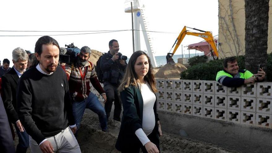 Iglesias: Los daños del litoral son fruto del crecimiento basado en el 'pelotazo'