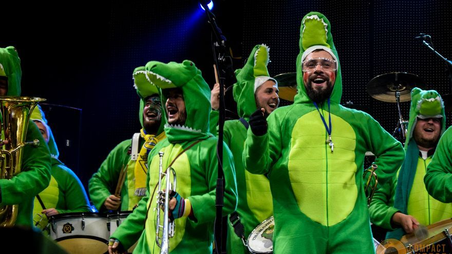 Charanga en carnaval castellano-manchego