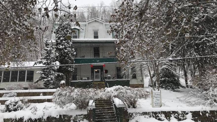 Alderson Hospitality House en invierno.