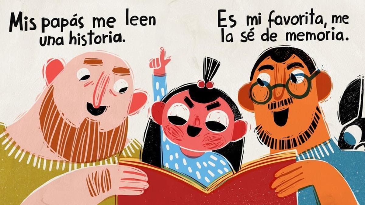 'No es hora de jugar', la versión en español del libro escrito por Lawrence Schimel e ilustrado por Elīna Brasliņa.