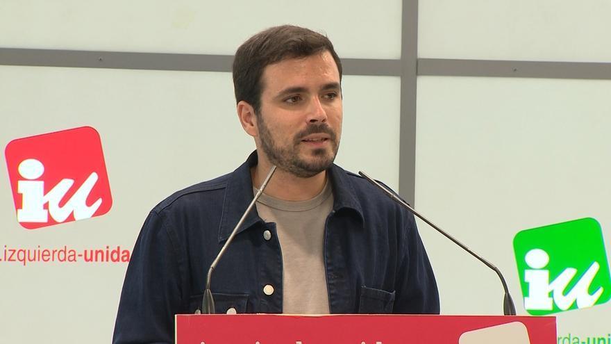 Garzón cree que la información de Espinar quiere dañar a Unidos Podemos y quitar el foco de los designamientos de Rajoy