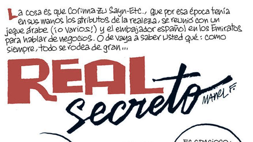 La tira de Fontdevila: Secreto real