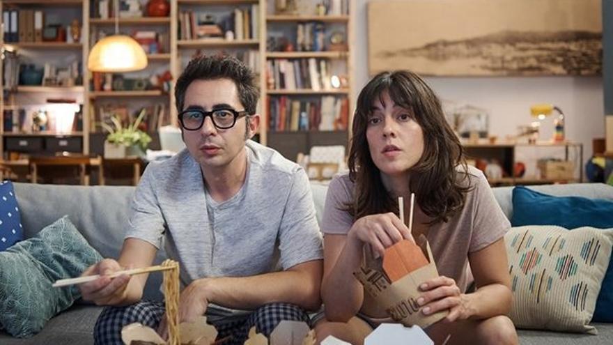 Berto Romero y Eva Ugarte en 'Mira lo que has hecho'