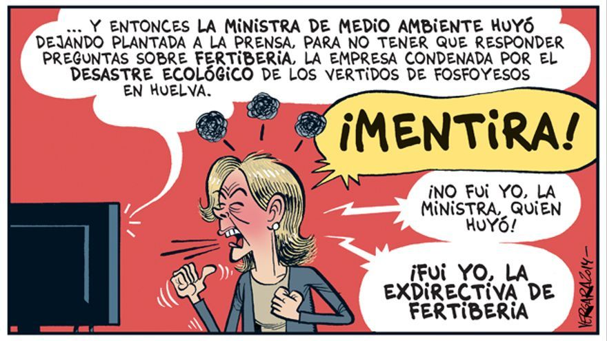 Tejerina se estrena (como ministra)