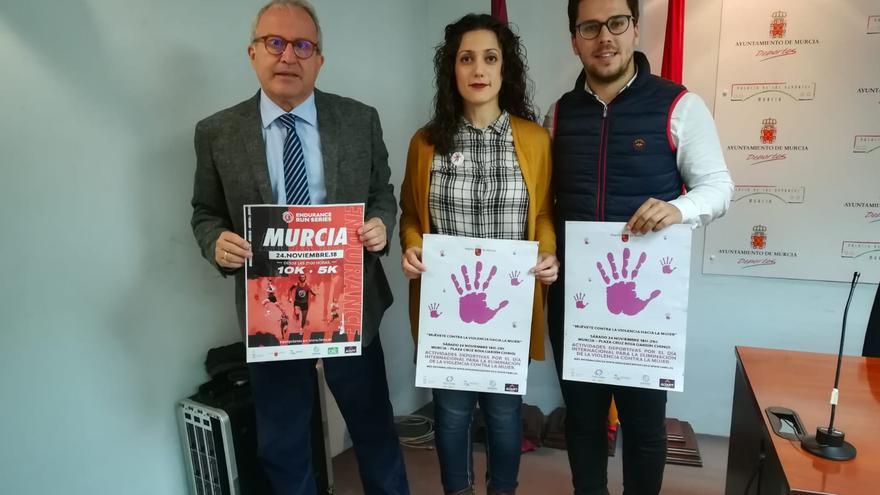 El deporte se suma a las actividades de Murcia para la Eliminación de la Violencia Contra la Mujer