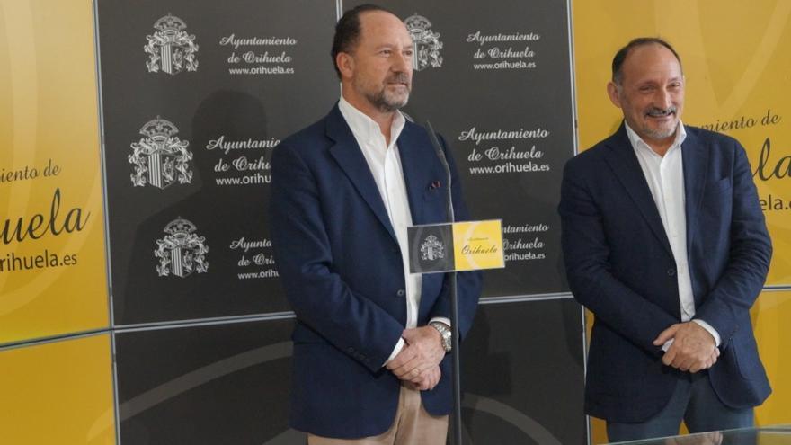 Emilio Bascuñana y Rafael Almagro