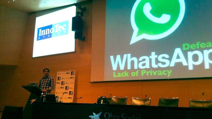 Jaime Sánchez presenta sus hallazgos en el congreso NoConName 2013