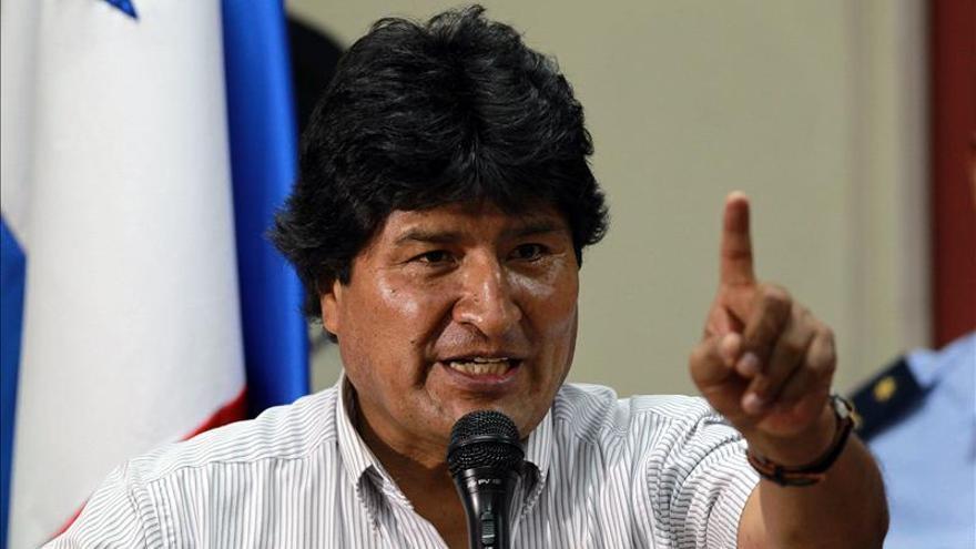 Evo Morales respalda la candidatura de Scioli en su visita a Argentina