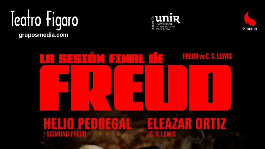 Cartel de la obra 'La sesión final de Freud'