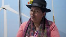"""Melania Canales, representante indígena: """"Para las empresas y los gobiernos nuestro hogar es solo un recurso"""""""