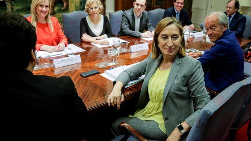 La reforma del norte de Madrid será inviable esta legislatura, dice Cifuentes