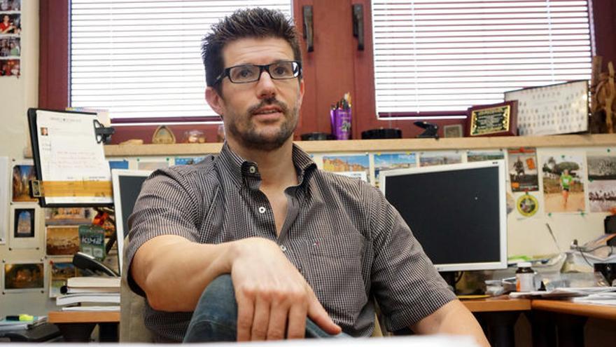 David Padrón, profesor de Economía Aplicada en la ULL