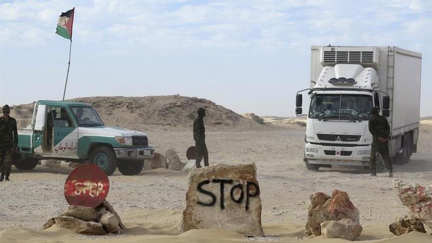 El Polisario está instalado en la frontera sur del Sáhara y no piensa retirarse