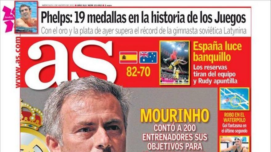 De las portadas del día (01/08/2012) #13