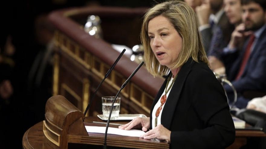 Ana Oramas, única diputada de CC en el Congreso