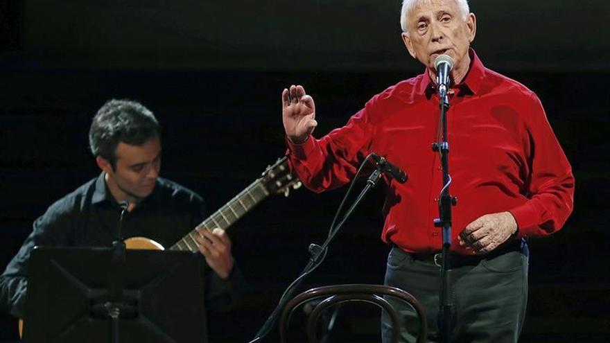 El cantautor valenciano Raimon.