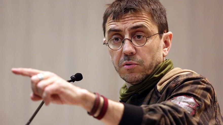 Monedero: Apelaremos al rescoldo socialdemócrata del PSOE para que no se eche en brazos de C's