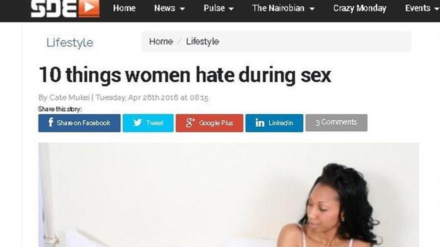 Ni gais, ni alcohol, ni condones: nada se escapa de la censura keniana