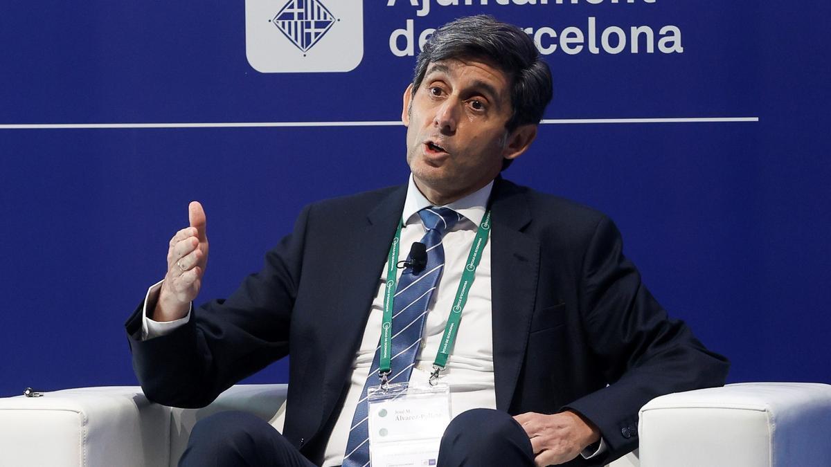 El presidente de Telefónica, José María Álvarez-Pallete. EFE/Quique García/Archivo
