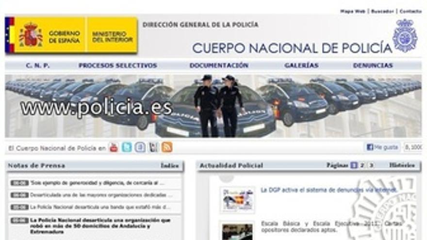 Web De La Policía Nacional