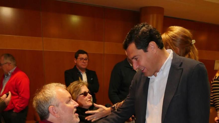 Juan Manuel Moreno en la campaña del 20D.