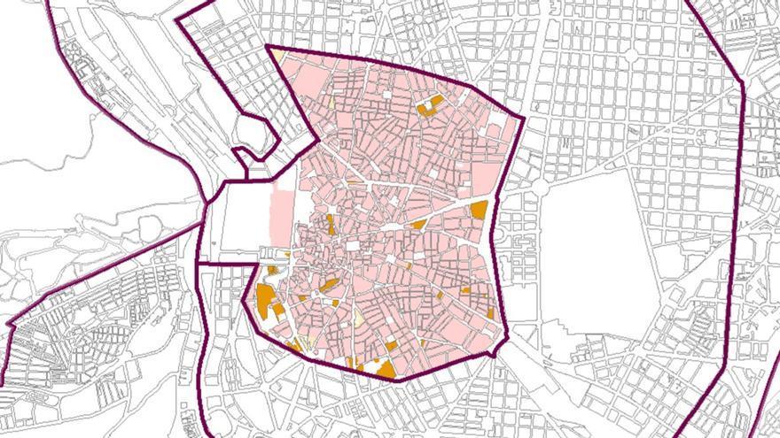Anillo 1 del PEH aprobado por el Ayuntamiento, que afecta a todo el distrito Centro | SOMOS MALASAÑA