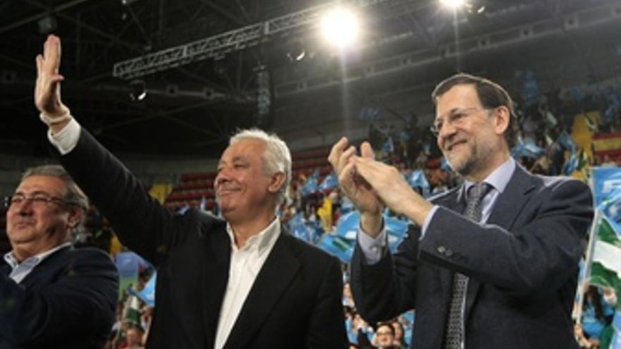 Javier Arenas Y Mariano Rajoy