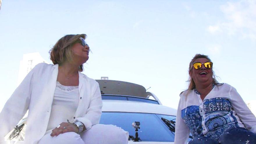 Terelu y Carmen Borrego, en su viaje a Miami