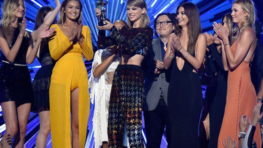 La triunfadora de los MVA, Taylor Swift