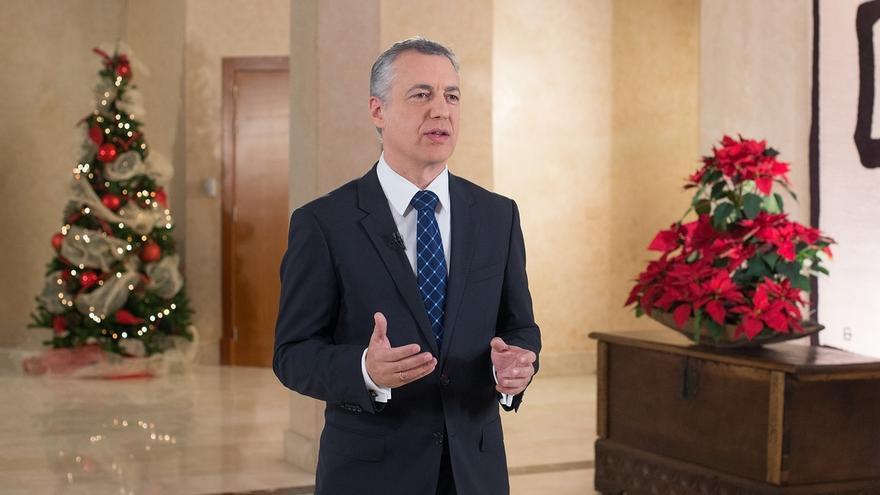 Urkullu pretende en 2016 avanzar en el autogobierno desde el acuerdo para que lo ratifiquen legalmente los vascos