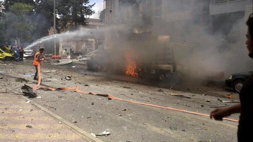 Al menos tres muertos por el disparo de cohetes en la ciudad siria de Alepo