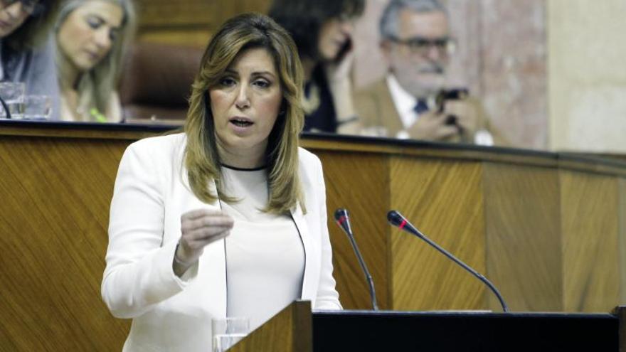 Susana Díaz ofrece al PP-A seis grandes pactos sobre empleo, financiación y política