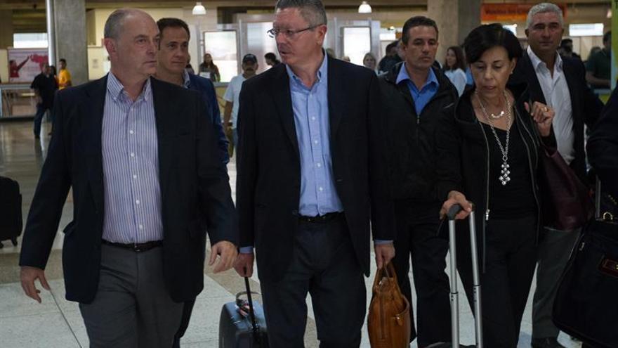 Exministro español de Justicia llega a Venezuela para asistir a la audiencia de Leopoldo López