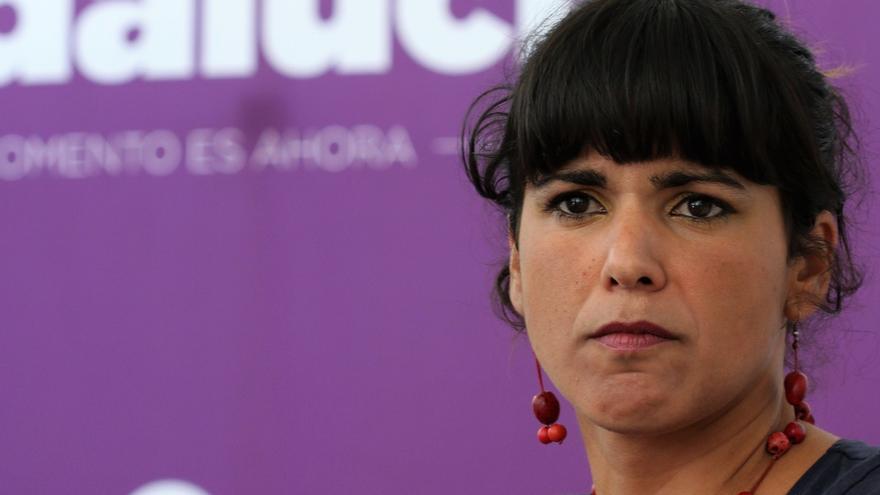"""Teresa Rodríguez (Podemos), sobre el mensaje del Rey: """"Un día votaremos también sobre su mandato de sangre"""""""